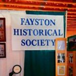 Fayston historical society event