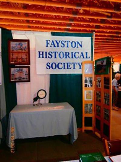 Fayston historical society