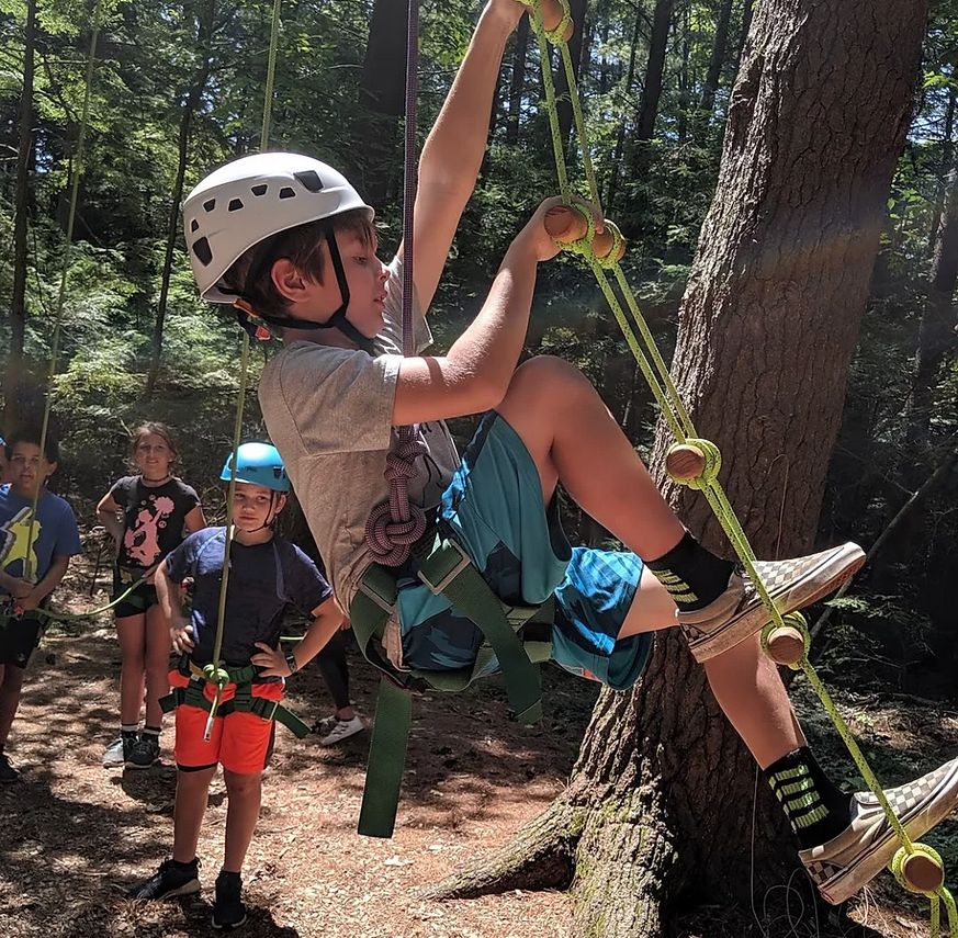 NeckOfTheWoods kids climbing