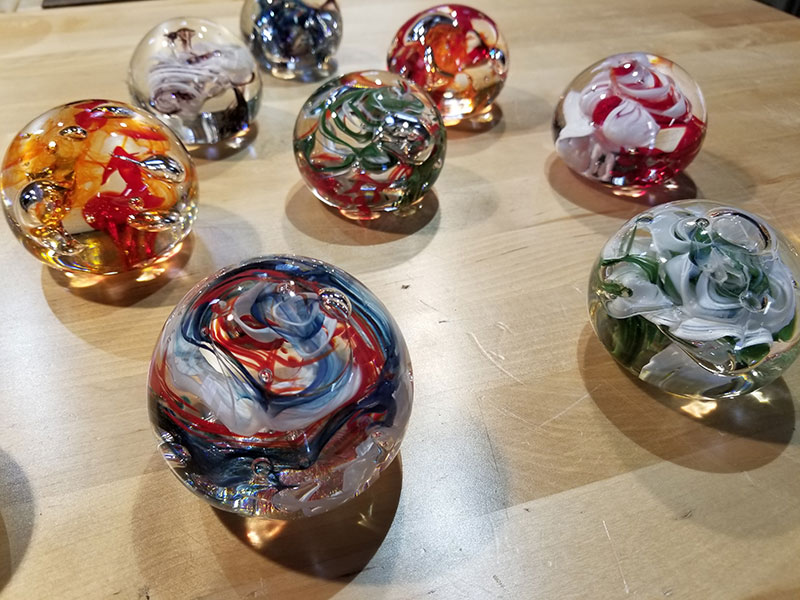 Salt and Sand Studio Paperweights