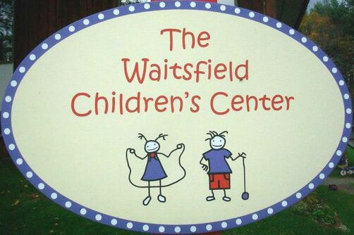 Waitsfield Children's Center sign