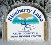 Blueberry Lake sign