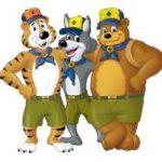 cub scout trio